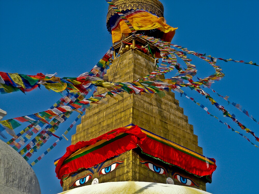 Boudhanath by AwesomeSauce