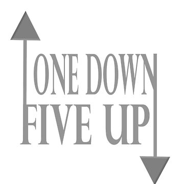One up five down graphic by Fzr2stun