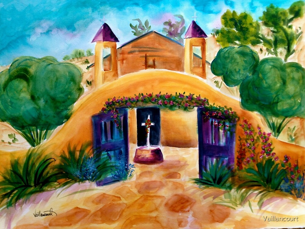 Summertime at Chimayo by Vaillancourt