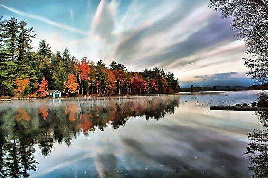 Highland Lake - Bridgton, Maine by T.J. Martin
