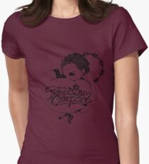 Paradise Carport Womens Fitted T-Shirt