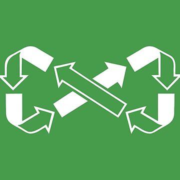 Möbius sagt recyceln von jezkemp