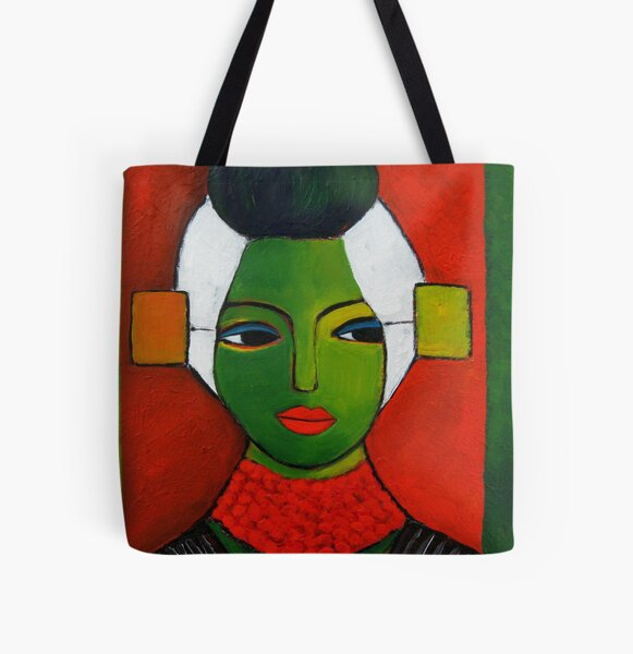 Zeeuws Meisje All Over Print Tote Bag