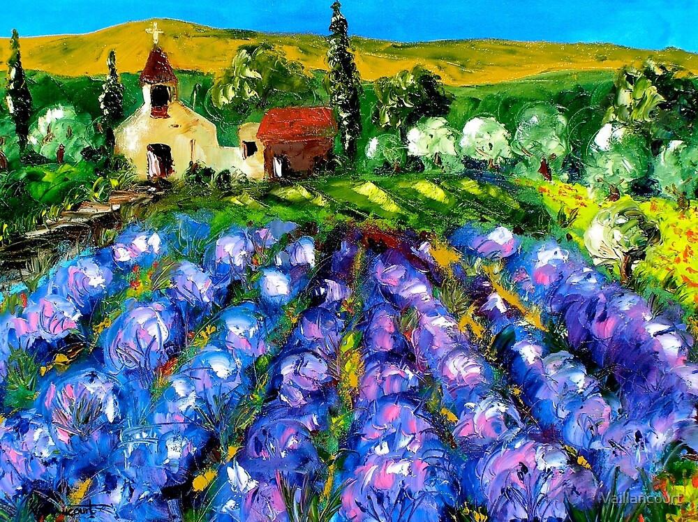 Lavender in Provence by Vaillancourt