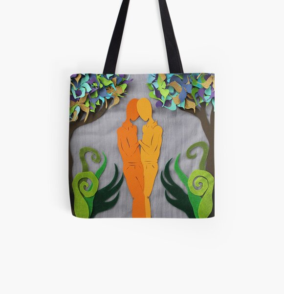 Summer Kiss #1 All Over Print Tote Bag