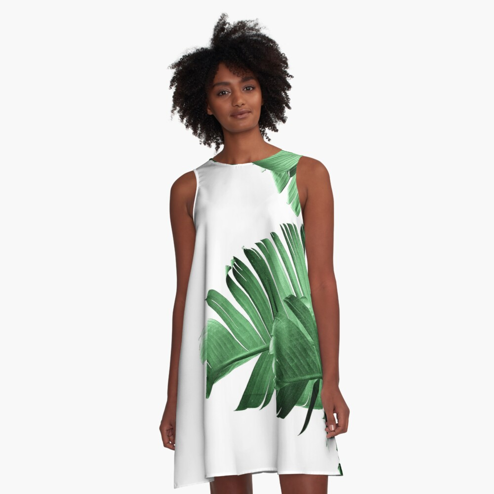 BANANA LEAF A-Line Dress