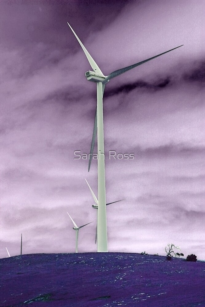 Negative Windmill by Sarah Ross
