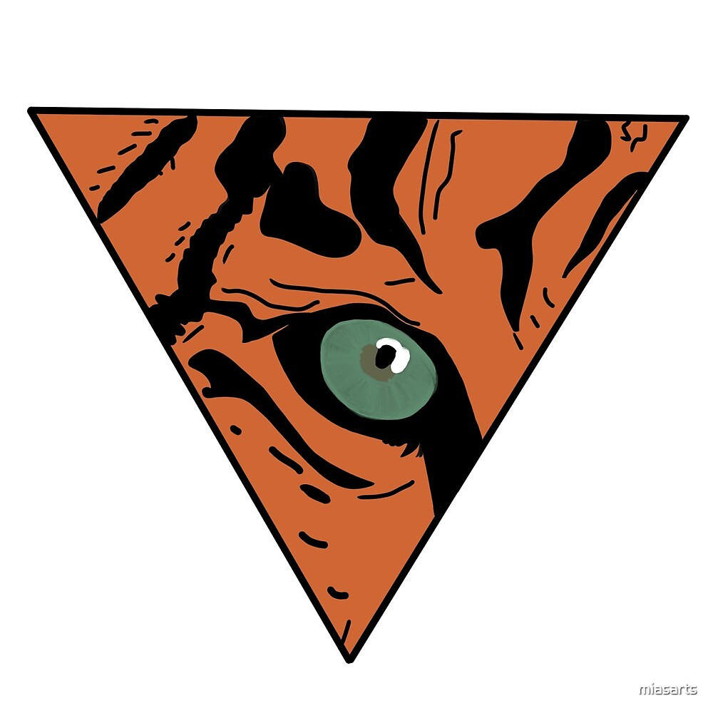 Tigers eye orange  by miasarts