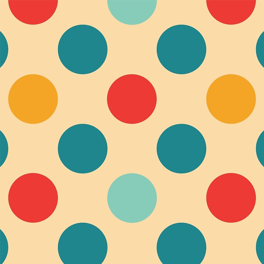 Colorful Dots by roseglasses