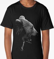 bear, black and white shirt Long T-Shirt