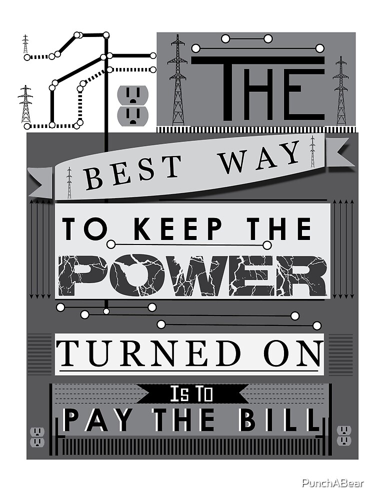 power by PunchABear