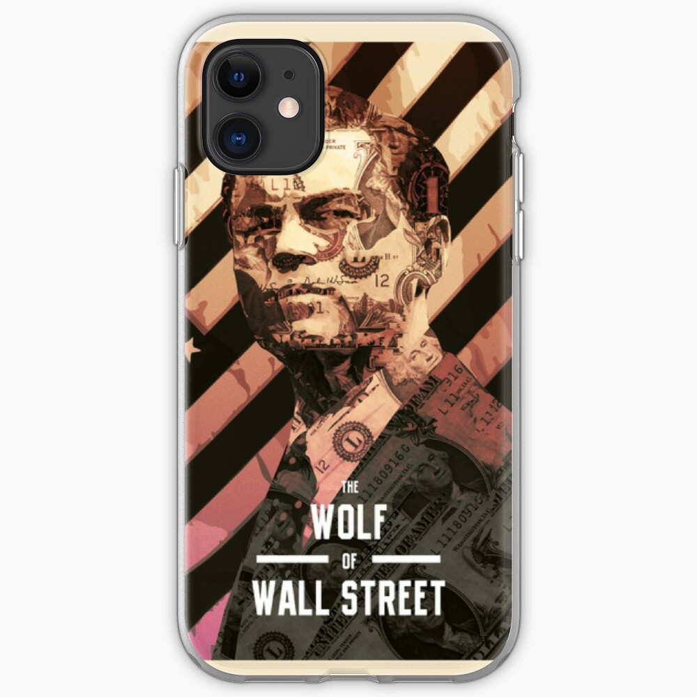 coque iphone 8 wolf of wall street