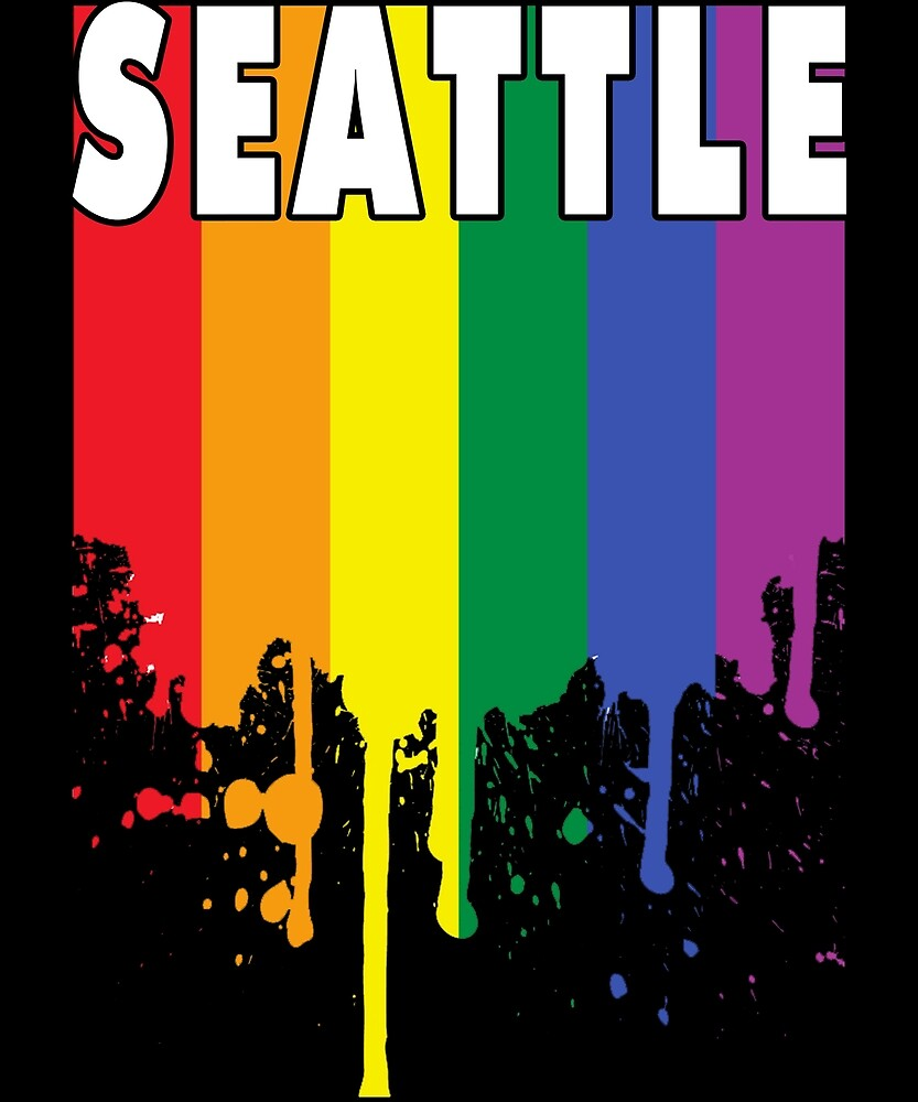 LGBT Pride STEATTLE T Shirt Funny LGBT Shirt by chihai