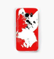 Pop art cat Samsung Galaxy Case/Skin