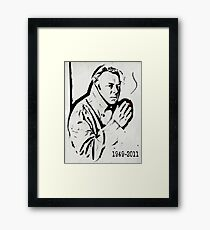 Christopher Hitchens Framed Print