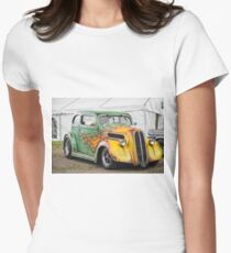 Ford Anglia Hot Rod Women's Fitted T-Shirt