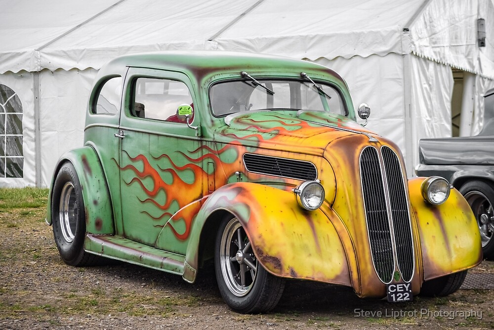 Ford Anglia Hot Rod by Stephen Liptrot