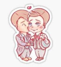 Jack x Ianto Sticker