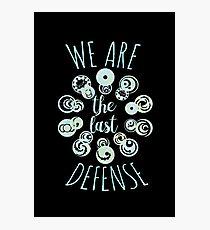 last defense v2 Photographic Print