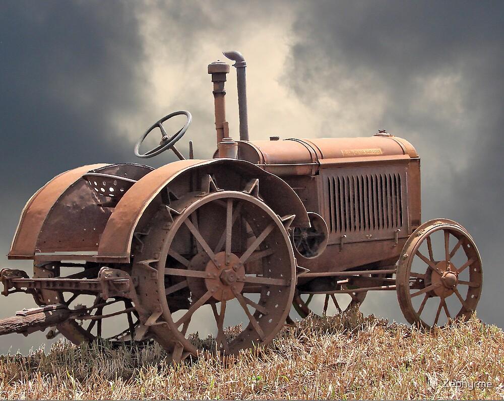 Rusty Tractors Never Die by Zephyrme