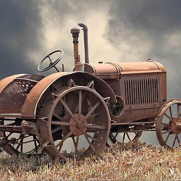 Rusty Tractors Never Die by Zephyrme