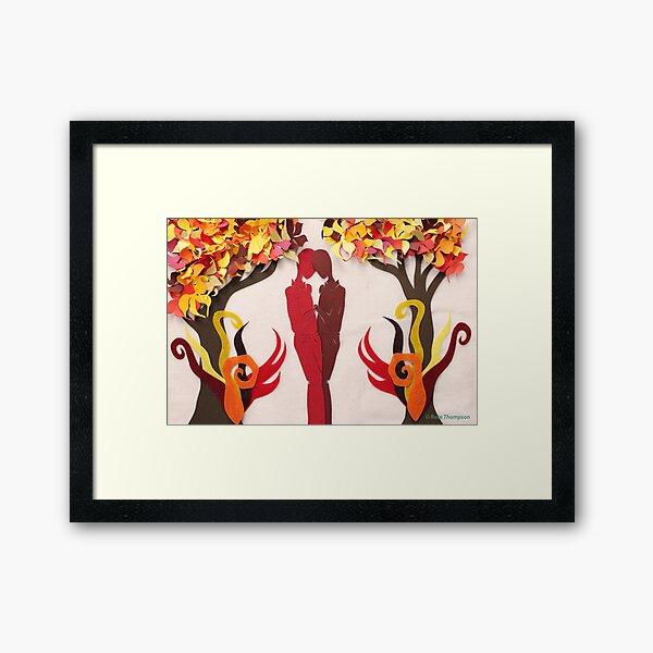 Autumn Kiss #1 Framed Art Print