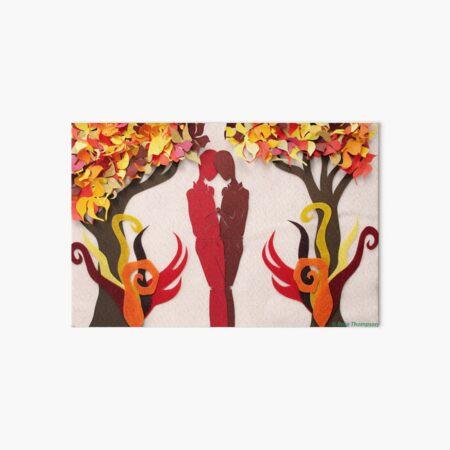 Autumn Kiss #1 Art Board Print