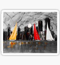 A Chicago Sail Sticker