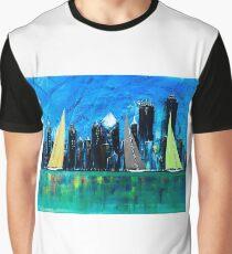 A Chicago Sail Graphic T-Shirt
