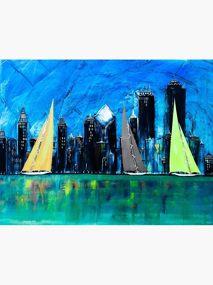 A Chicago Sail by barryknauff