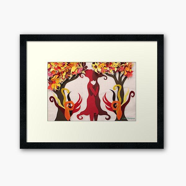 Autumn kiss #2 Framed Art Print