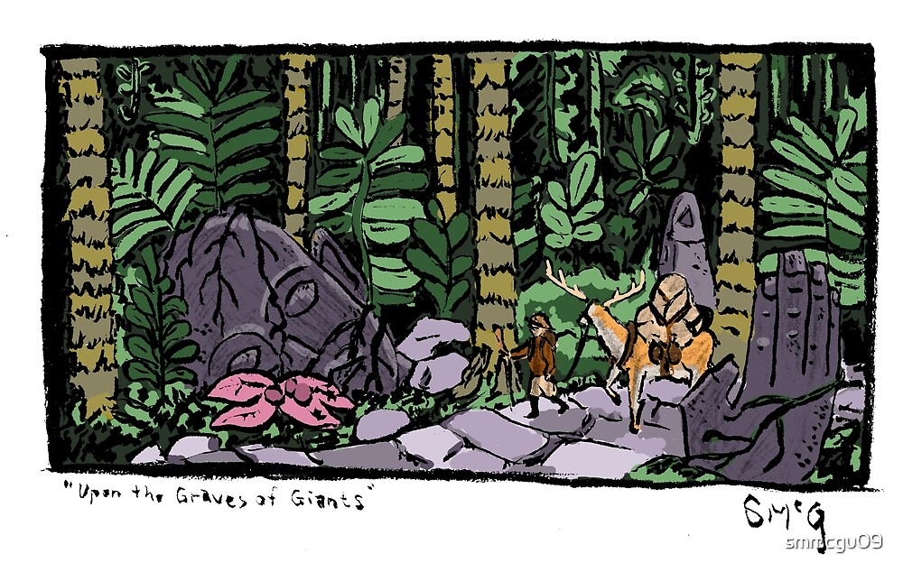Upon the Graves of Giants by smmcgu09