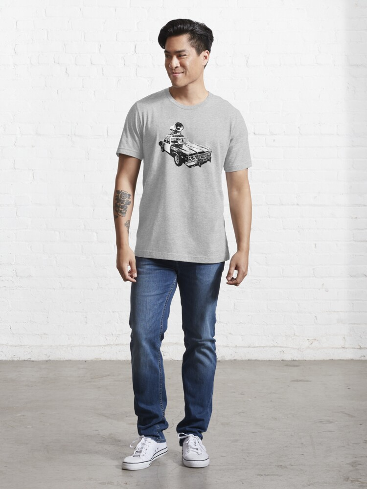 Alternate view of The Bluesmobile Essential T-Shirt