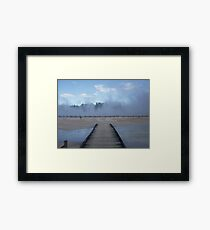 Go Explore Framed Print