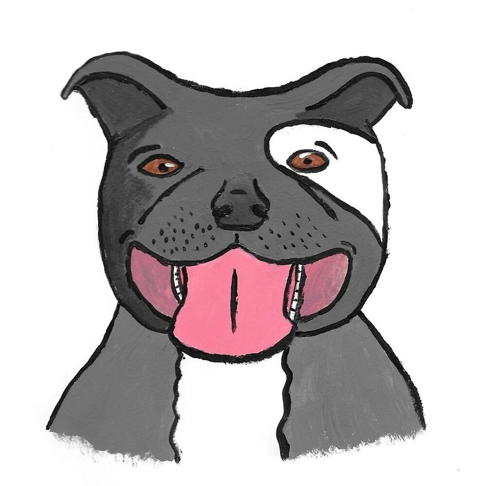 Pit Bull Puppy by badluckgal