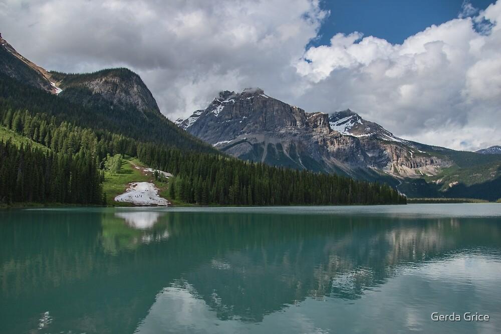 Emerald Lake, British Columbia, Canada by Gerda Grice