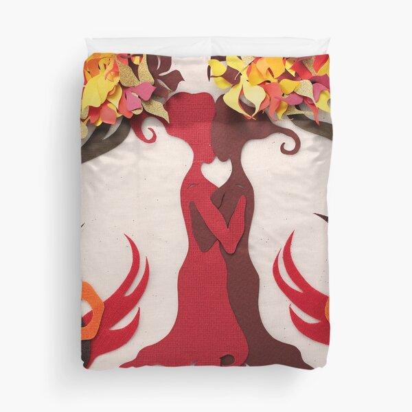 Autumn kiss #2 Duvet Cover