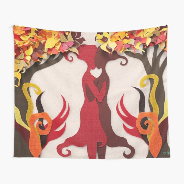 Autumn kiss #2 Tapestry
