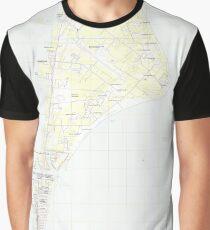 USGS TOPO Map Florida FL Cape Canaveral 20120718 TM Graphic T-Shirt