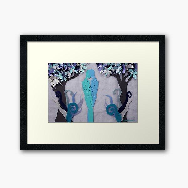Winter Kiss #1 Framed Art Print
