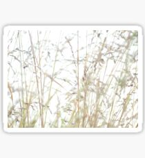 Fine grasses Sticker