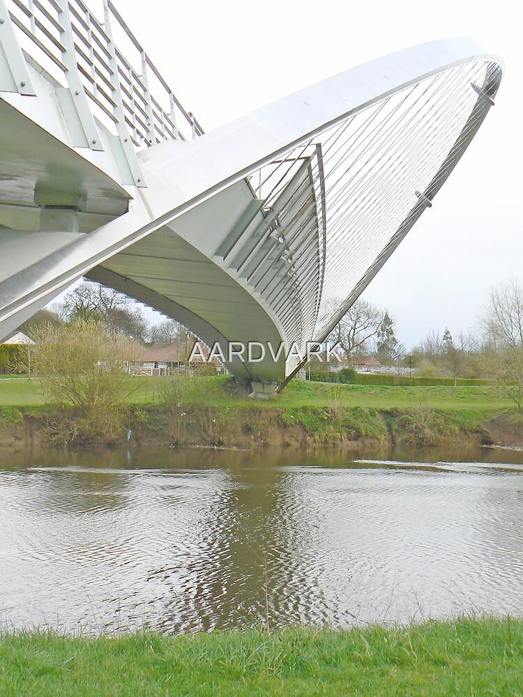 York's Millenium Bridge by AARDVARK