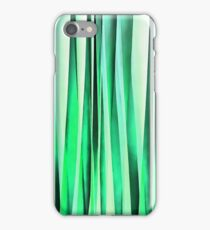 Turquoise Serenity Stripy Pattern iPhone Case/Skin