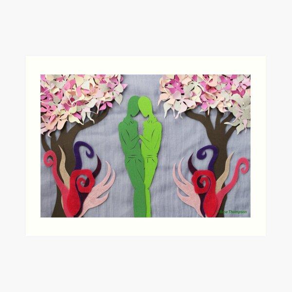 Spring Kiss #1 Art Print