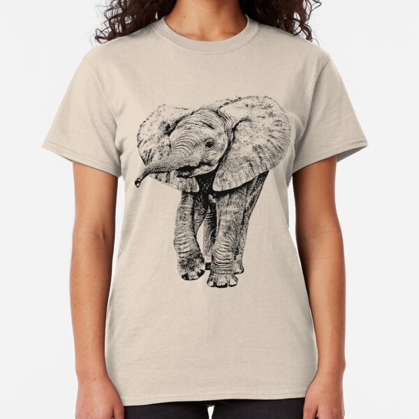 Irresistible Baby Elephant | African Wildlife Classic T-Shirt