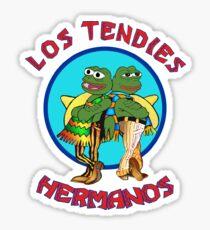 Los Tendies Hermanos (Pepe the Frog - Breaking Bad) Sticker
