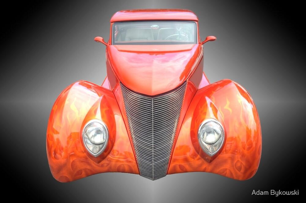 Orange Fire by Adam Bykowski