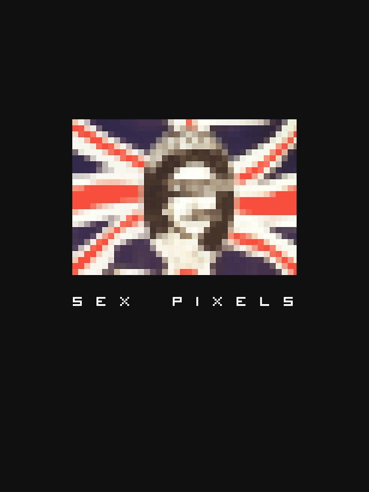 TShirtGifter presents: sex pixels (dark shirt) | Unisex T-Shirt