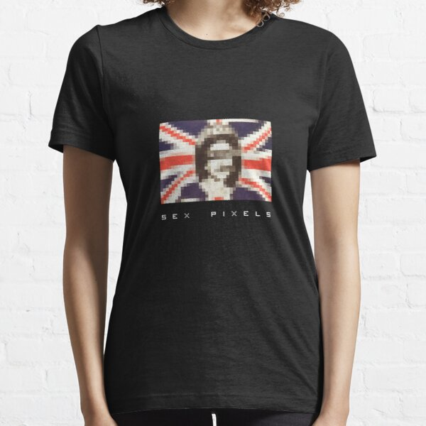 sex pixels (dark shirt) Essential T-Shirt