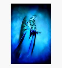 Blue guardian angel  Photographic Print
